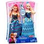 Boneca Frozen Kit Original Disney Mattel Anna + Elsa