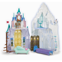 Castelo Frozen 2 Em 1 Original Disney Mattel Pronta Entrega!