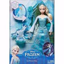 Nova Boneca Frozen Elsa Princesa Em Açao - Original Mattel