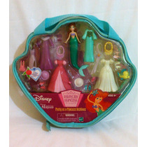 Ariel Boneca Disney ,tipo Polly Hasbro Maleta