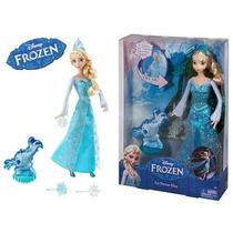 Boneca Elsa Frozen - Princesas Disney - Elsa Poder Do Gelo
