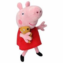 Boneca De Pelucia Musical Peppa Pig 25 Cm Jb