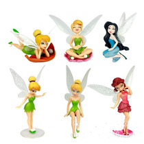 6 Bonecas Tinkerbell Fadas Coleção Sininho Disney Em Estoque