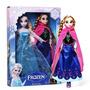 Pronta Entrega - 2 Bonecas Frozen Anna + Elsa + Brinde