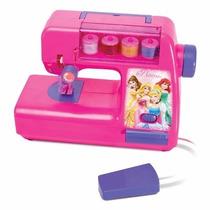Máquina Costura De Verdade Infantil Ateliê Princesa Portatil