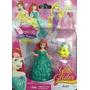 Boneca Princesas Ariel Troca Roupinha Com Bichinho Magic Cli