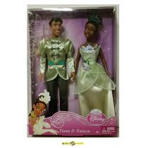 Tiana - Princesa Tiana E Príncipe Naveen - 2011 Mattel