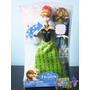 Boneca Frozen Anna Barbie Disney Musical Mattel Tenho Elsa