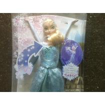 Boneca Elsa Musical Canta 4 Idiomas Frozen Original Mattel