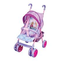 Carrinho De Boneca Frozen Bebê Passeio Disney Ref 6044