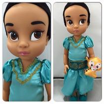 Boneca Jasmine Animator Aladim Disney Store Original