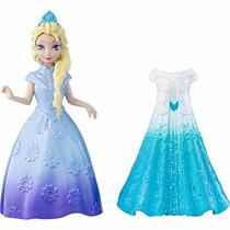 Mini Boneca Disney Frozen Magiclip - Princesa Elsa - Mattel