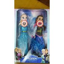 2 Bonecas Do Filme Frozen Musical Anna E Elsa