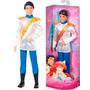 Boneco Príncipe Eric Da Ariel Princesas Disney Mattel Bdj08