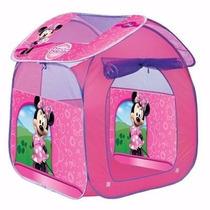 Casinha Brincar De Boneca Rosa Disney Minnie