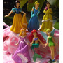 Kit 6 Bonecas - Princesas Disney - Ariel Cinderella