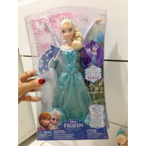 Boneca Disney Frozen Elsa Canta Let It Go Mattel.