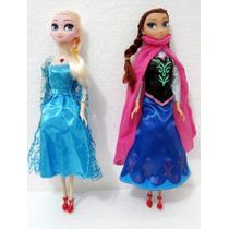 Kit 2bonecas Frozen Cantam Elsa Ana Musical Veja Video Agora