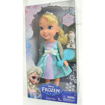 Boneca Frozen Importada Elza Cantora + Olaf