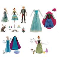 Kit Disney 5 Bonecas Frozen Ferver De Luxe Gif Set - Cantam