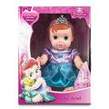 Boneca Baby Princesa De Vinil - Ariel - Mimo