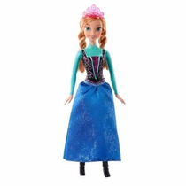 Boneca Ana Frozen - O Reino Do Gelo - Matel - Cfb81