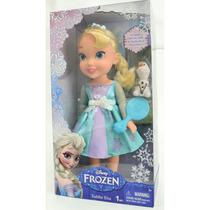 Boneca Frozen Elza Cantora +olaf
