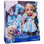 Boneca Disney Frozen Elsa Com Kit De Beleza 35 Cm - Sunny