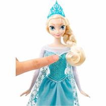 Boneca Frozen Elsa Musical Original Disney Mattel Original