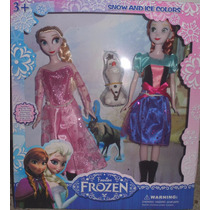 Boneca Frozen Princesa Ana Elsa Pronta Entrega Frete Grátis