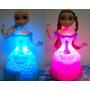 Boneca Frozen Elsa Ou Ana Canta E Dança Led Pronta Entrega