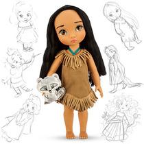 Boneca Princesa Pocahontas Disney Animator Original