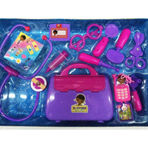 Kit Doutora Brinquedos - Maleta + 11 Acessórios