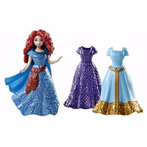 Boneca Disney Princesa Fairytale Magiclip Merida Vinyl Bag