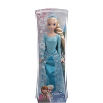 Boneca Filme Frozen Princesa Brilhante Elsa Original Mattel