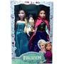 2 Bonecas Do Filme Frozen Disney Anna E Elsa Brinde Olaf
