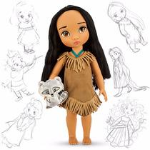 Boneca Pocahontas Animators Original Disney Store