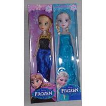 Grande Promoção De Bonecas Filme Fronzen Elza E Anna Disney