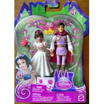 Mattel - Casamento Dos Contos De Fada - Casal Branca De Neve