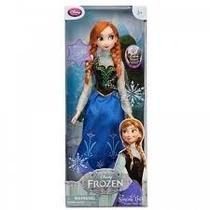 Boneca Frozen Anna 30cm Que Canta