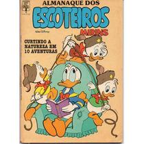 Almanaque Escoteiros Mirins Nº 3 - Dezembro 1987 - Disney