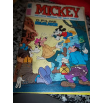 Antigo Gibi Mickey 329 - Ed. Abril - 1980