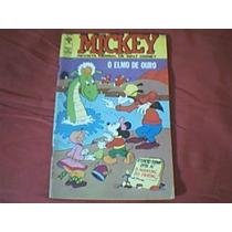 Hq Mickey Nº 242 Editora Abril 1972