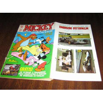 Mickey Nº 241 Novembro De 1972 Editora Abril Com Figurinhas