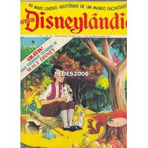 Revista Disneylândia Nº 25 - Editora Abril - 1972