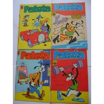 Pateta Ed Abril Ano 1982 Edições 3,4,7 E 13(1983) Ótimos!