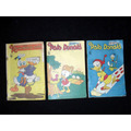 Revista Disney Pato Donald 3 Unid. Anos 68 70 71.