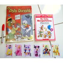 Kit Pato Donald Nº 1 (fac-simile) + Clássicos Disney 1 + Ca