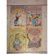 Série De Ouro Disney Nº 1-2-3-4 - Ed. Abril - 1987