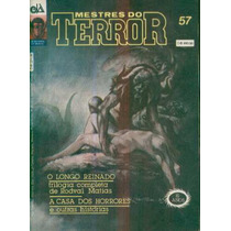 Revista Mestres Do Terror Nº 57 1991 Editora D-arte